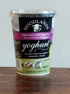 Woodlands sheeps milk yoghurt